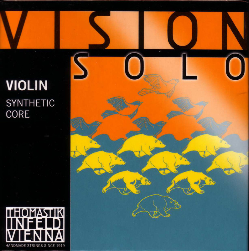 Image of Vision SOLO Violin Strings, SET