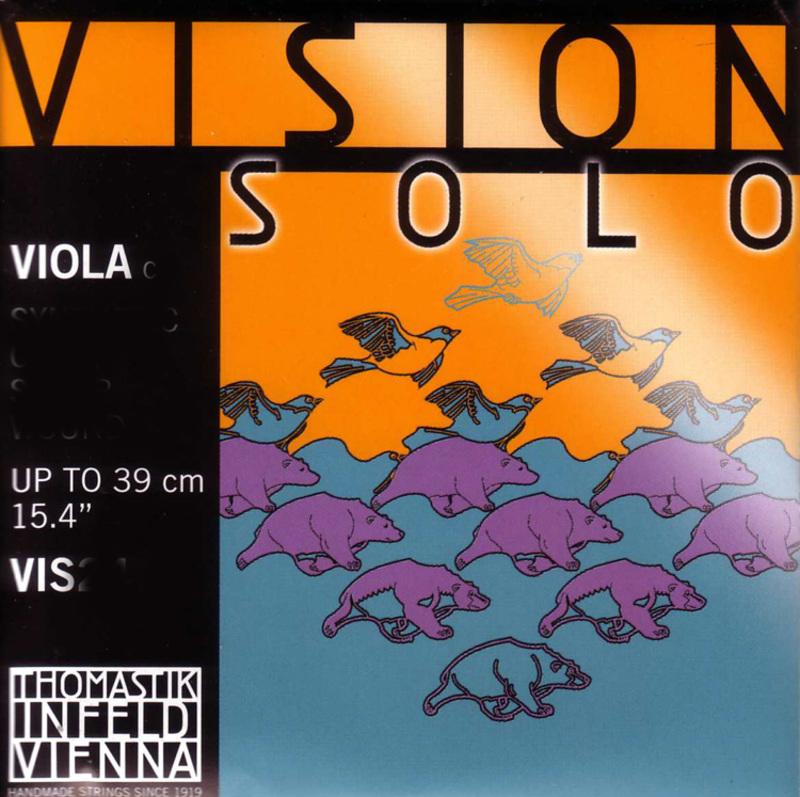 Image of Thomastik Vision 'SOLO' Viola Strings, Set