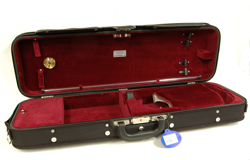Image of Wooden Violin Case by Jakob Winter, Germany