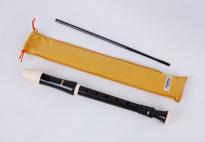 Aulos Robin Descant Recorder (Yellow Bag)