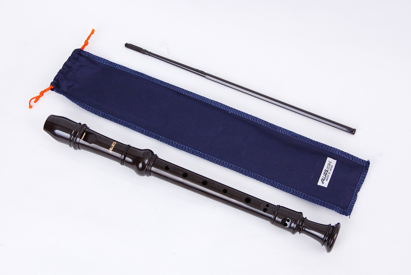 Image of Aulos Elite Descant Recorder (Blue bag)