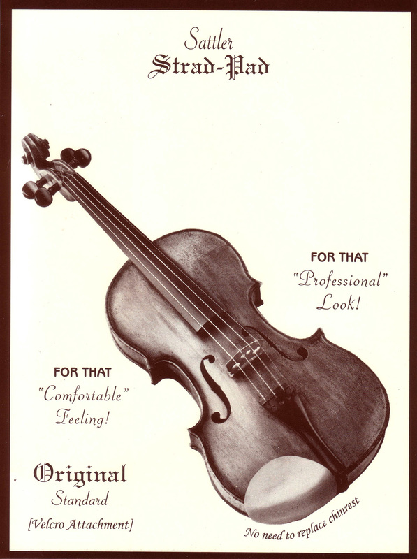Image of Sattler Strad-Pad Chinrest Pad.