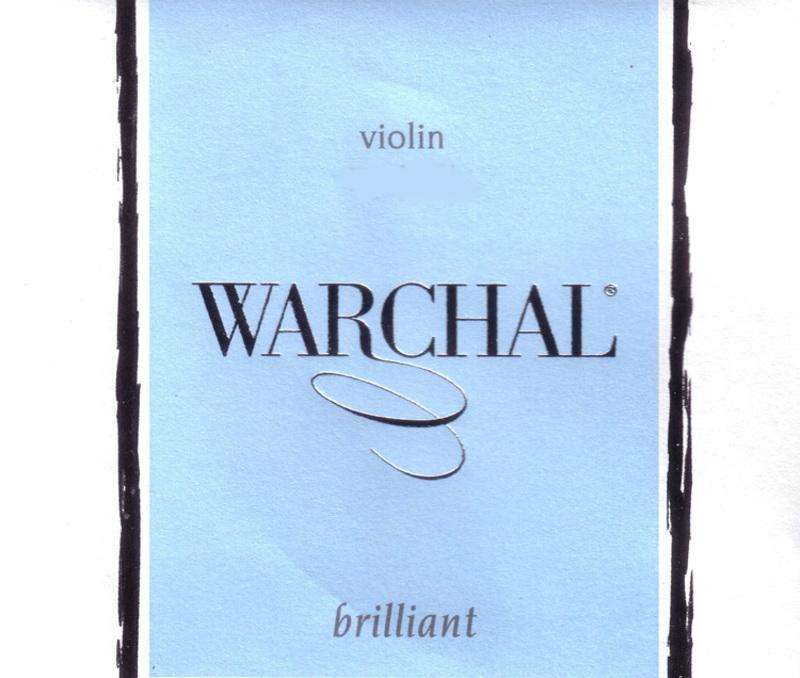 Image of Warchal Brilliant Violin Strings, Set