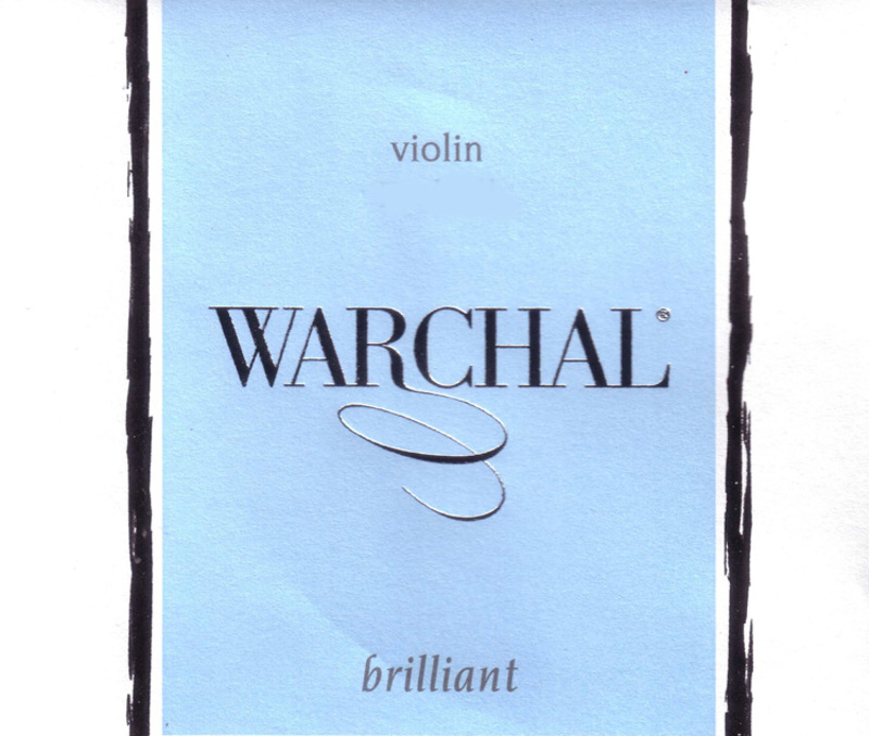 Image of Warchal Brilliant Violin String, D