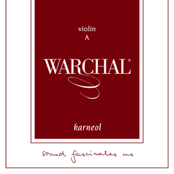Image of Warchal Karneol Violin String, A