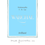 Warchal Brilliant Cello String, D