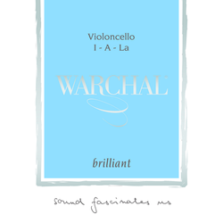 Warchal Brilliant Cello String, C