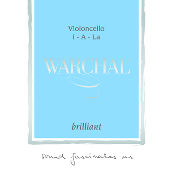 Image of Warchal Brilliant Cello Strings, SET