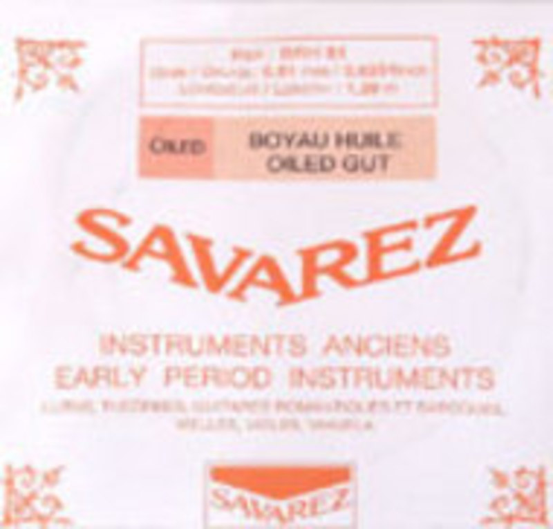 Image of Baroque Viola D String by Savarez