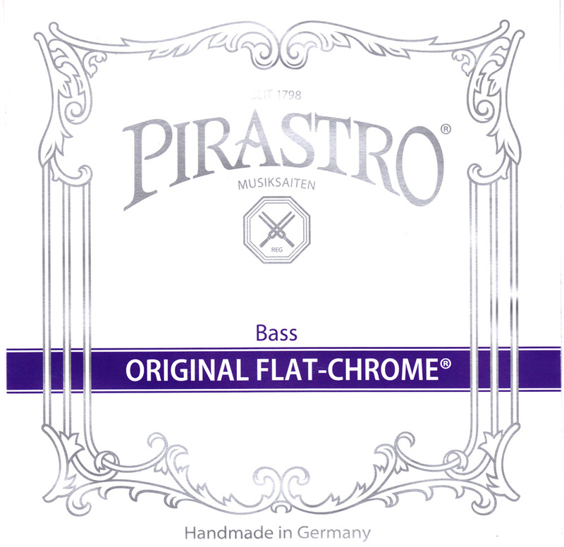 Image of Pirastro Original Flat-Chrome Double Bass String, E 2.1m