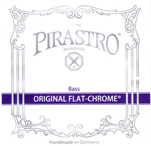 Pirastro Original Flat-Chrome Double Bass String, E 2.1m