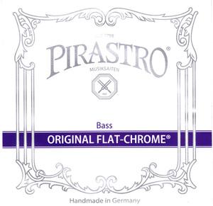 Pirastro Original Flat-Chrome Double Bass Strings, SET