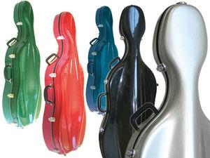 Sinfonica Z-Tec Fibreglass Cello Case