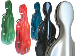 Sinfonica Z-Tec Fibreglass Cello Case