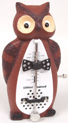 Owl Clockwork Metronome by Wittner