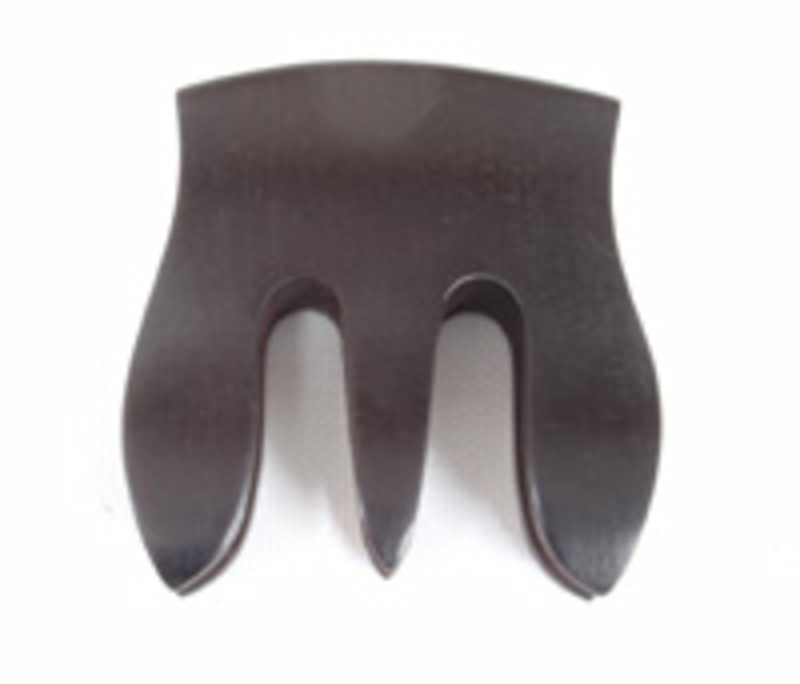 Image of Ebony Trident Double Bass Mute