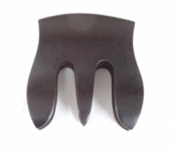 Ebony Trident Double Bass Mute