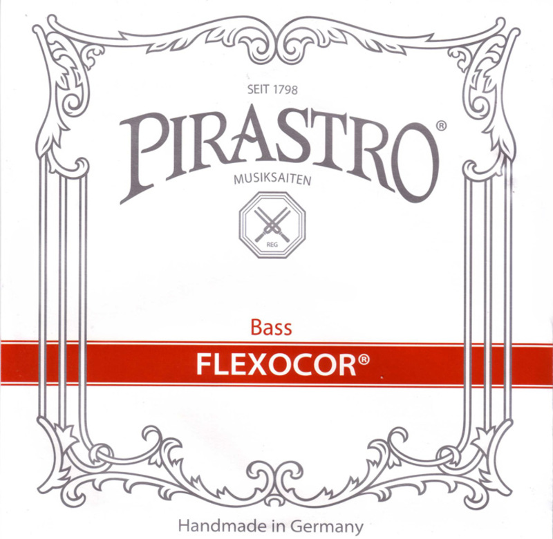 Image of Pirastro Flexocor Double Bass String, A or B Solo