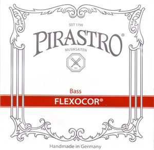 Flexocor Double Bass String, E Extension, 2.10M