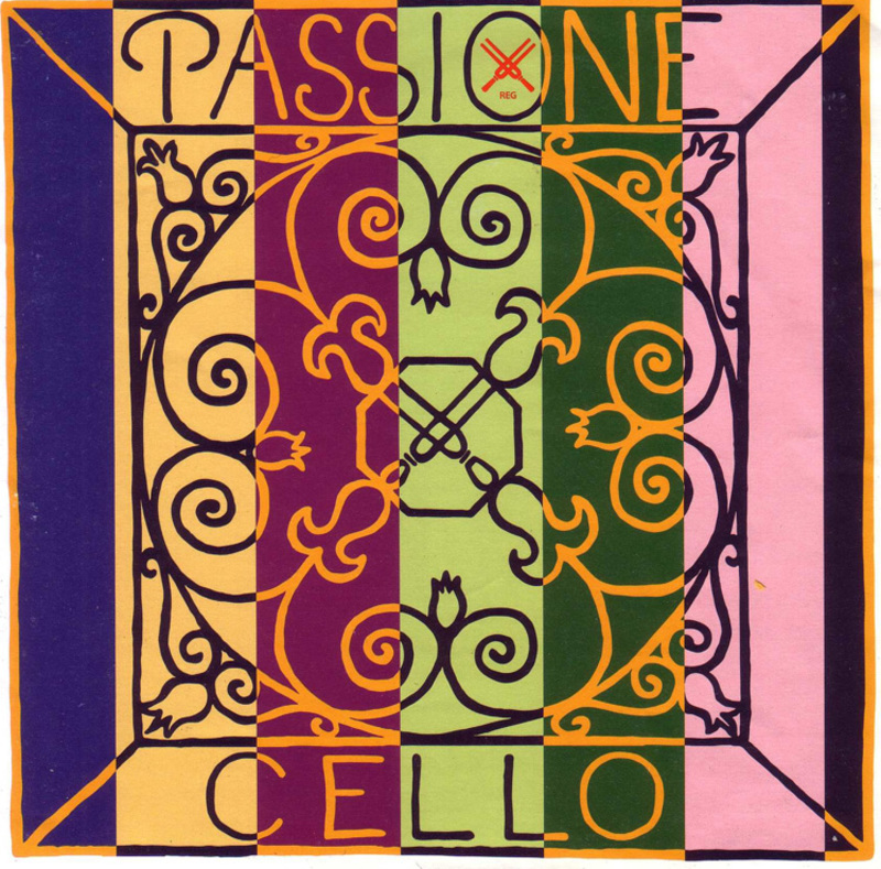 Image of Pirastro Passione Cello String, D