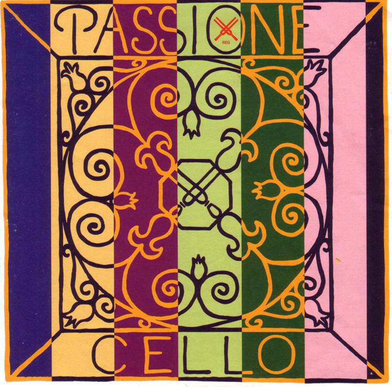 Image of Pirastro Passione Cello String, D