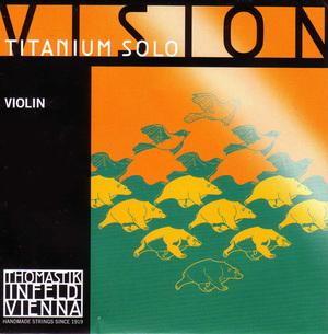 Vision Titanium Solo Violin String, D