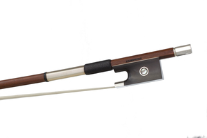 Silver and Ebony Mounted Violin Bow by F.C. Neuveville, Switzerland
