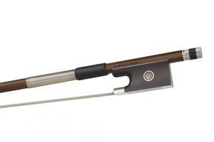 Silver Mounted Violin Bow by D. Chagas, Brazil