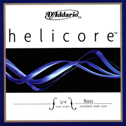 Helicore Double Bass String, G, or A Solo