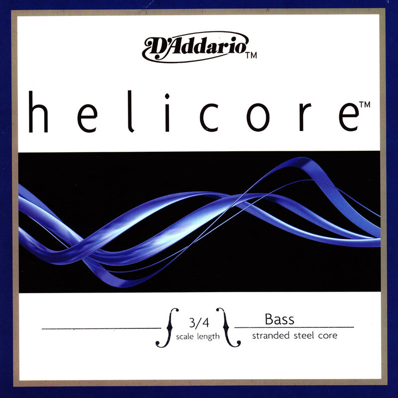 Image of Helicore Double Bass String, A, or B Solo
