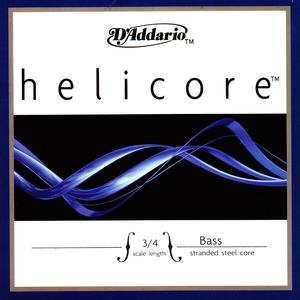 Helicore Double Bass String, A, or B Solo