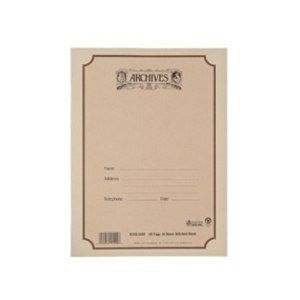 Archives Manuscript Book