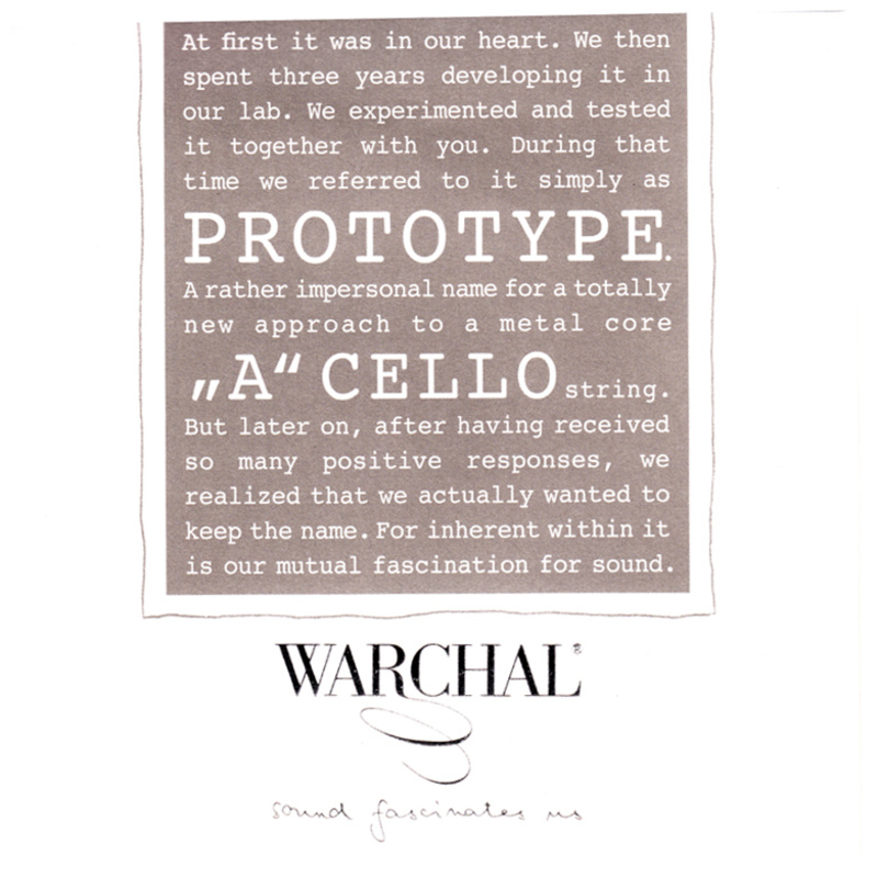 Image of Warchal Prototype Cello String, A