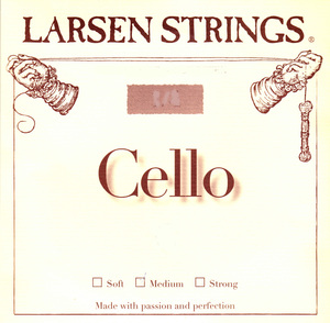 Larsen cello string, E