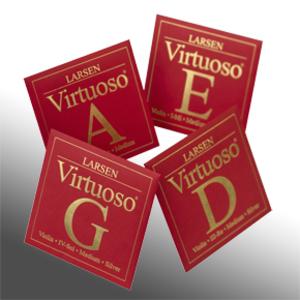 Larsen Virtuoso Violin Strings, Set
