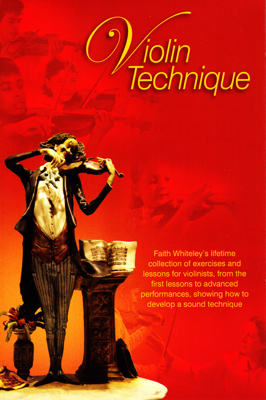 Image of Violin Technique DVD by Faith Whiteley