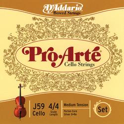 Pro arte cello strings thumb