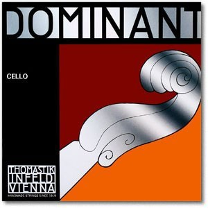 Dominant cello string cropped