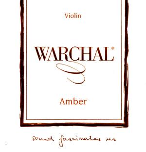 Warchal Amber Violin Strings, Set