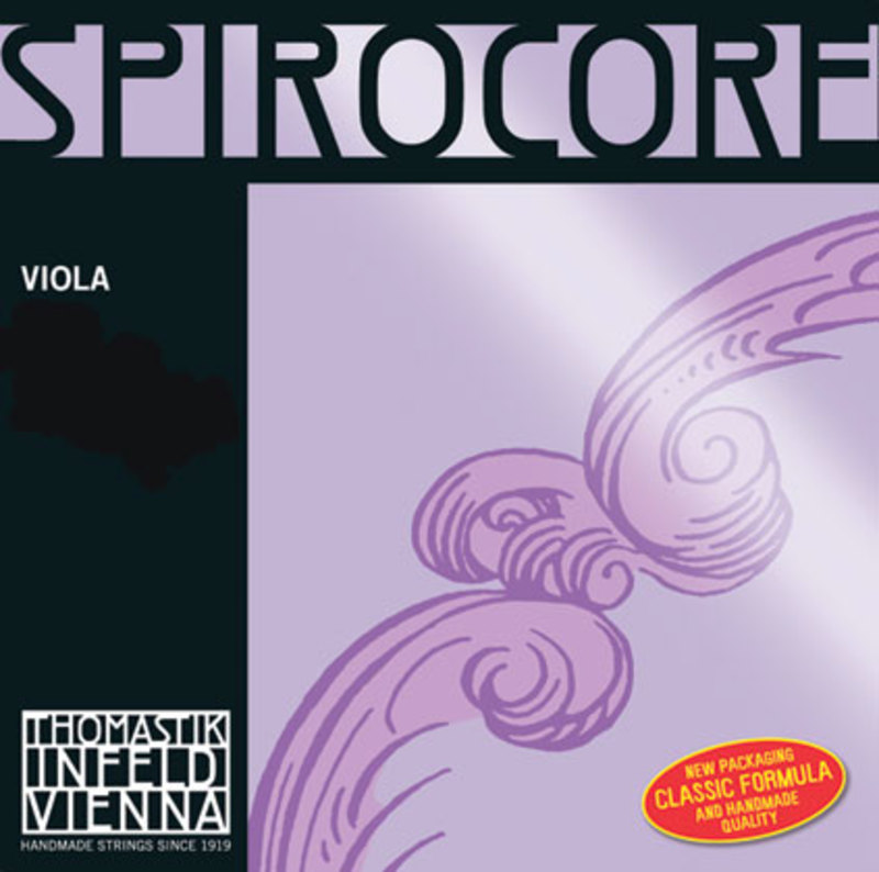 Image of Thomastik Spirocore viola string A, Chromesteel