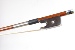 Nickel Mounted Cello Bow by D Chagas, Brasil
