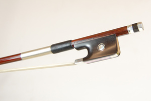 Silver Mounted Cello Bow by V Schaeffer, Brasil