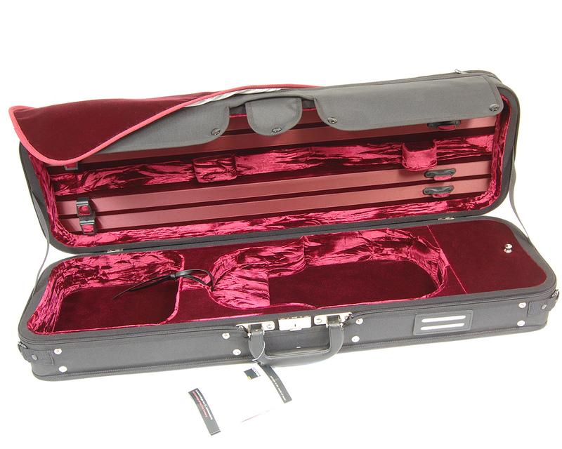 Image of GEWA Strato Deluxe Violin Case