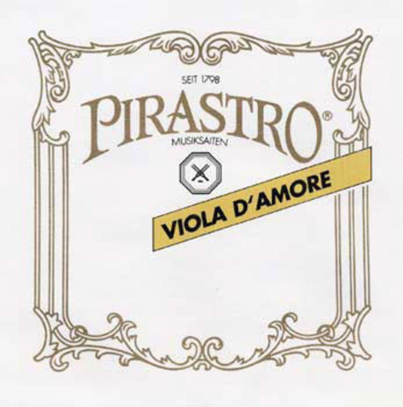 Image of Pirastro Viola D'Amore Strings (Playing)