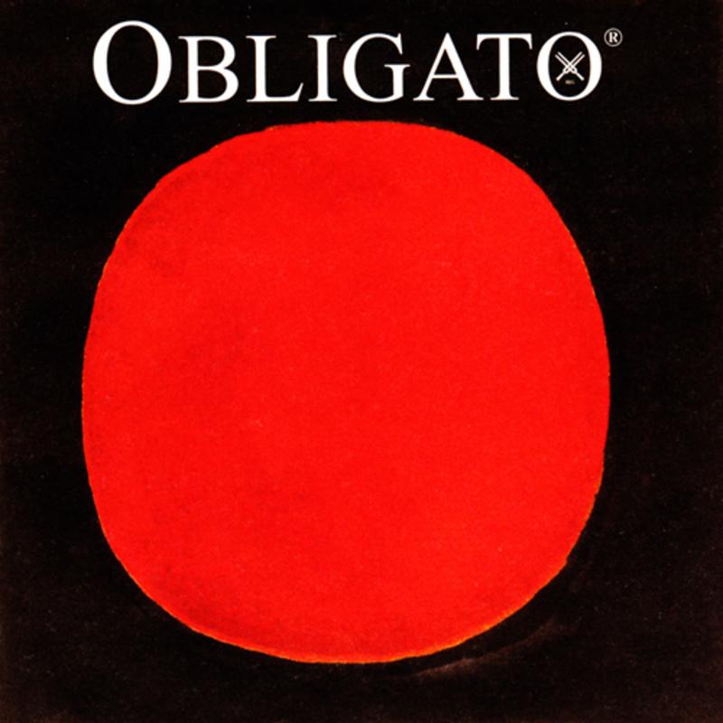 Image of Pirastro Obligato Violin String, D 1/8-3/4 Size