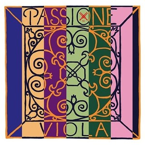 Pirastro passione viola strings cropped