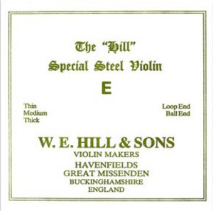 The Hill Special Violin String, E