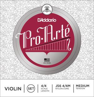 D'Addario Pro Arte Violin Strings, SET