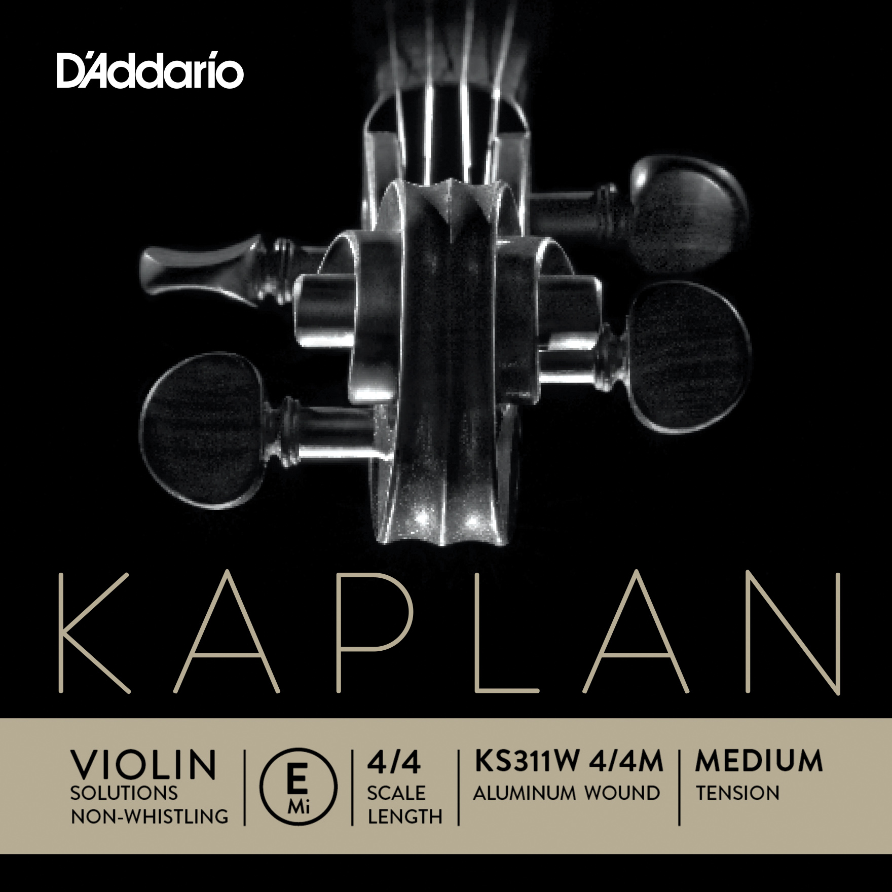 Kaplan Solutions Non Whistling Violin String E 23 Off