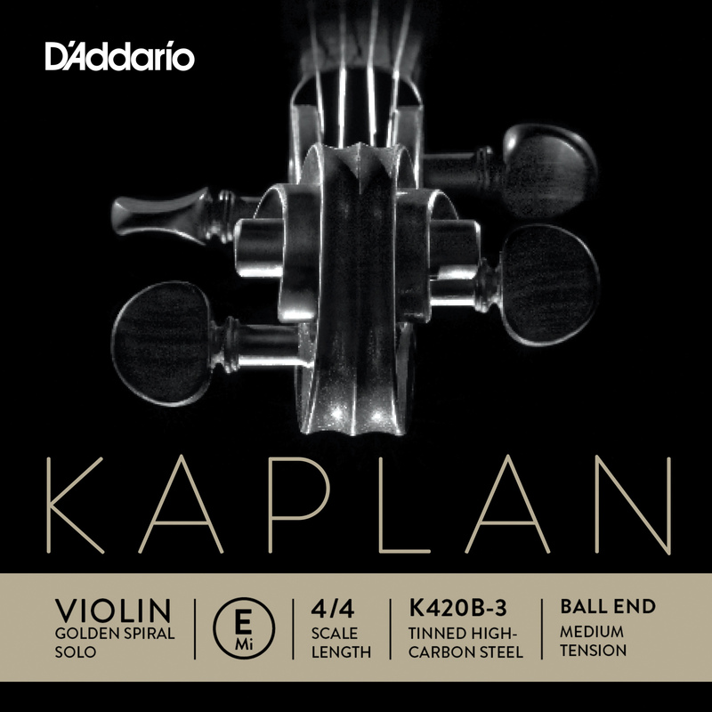 Image of Kaplan Golden Spiral Solo Violin String, E